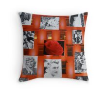 Red Autobiography 08-08-08 Throw Pillow