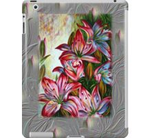 Red Lilies Fantasy iPad Case/Skin