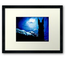 Orthanc Rescue Framed Print