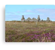 Ruined Croft House Canvas Print