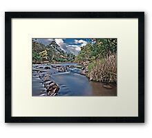 Yarra River at Warrandyte Framed Print