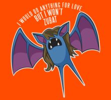 PokéPun - 'But I Won't Zubat' Kids Clothes