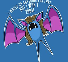 PokéPun - 'But I Won't Zubat' by Alex Clark
