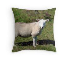 A Hill Lamb Throw Pillow