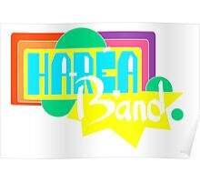 Harea band LOGO (Colorized) Poster