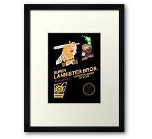 Super Lannister Bros. Framed Print