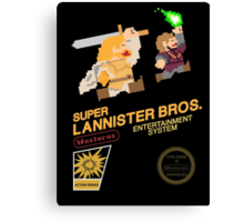 Super Lannister Bros. Canvas Print