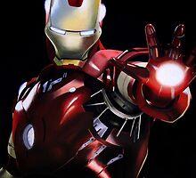 Iron Man - The Sassy Avenger by createdtocreate