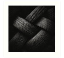 Tyre Plait Art Print