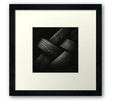 Tyre Plait Framed Print