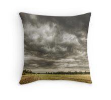Storm season Throw Pillow