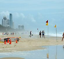 Surfers Paradise Qld Australia by Sandra  Sengstock-Miller