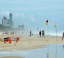 Surfers Paradise Qld Australia by sandysartstudio