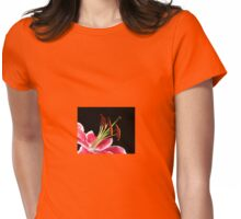 Lily Stamens Womens Fitted T-Shirt