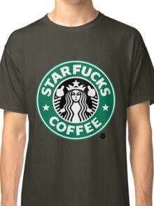 StarFucks Coffee Classic T-Shirt