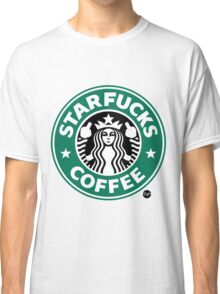 StarFucks Coffee Classic T-Shirt