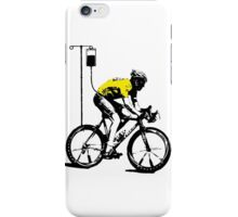 Lance Armstrong Print iPhone Case/Skin