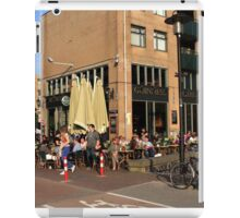 Streets Of Amsterdam  iPad Case/Skin