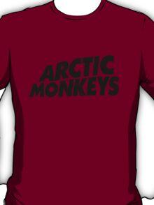 Arctic Monkeys Black logo AM T-Shirt