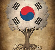 Tree of Life with South Korean Flag by Jeff Bartels