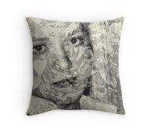 lace curtain Throw Pillow