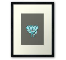 Tough but Delicate Framed Print