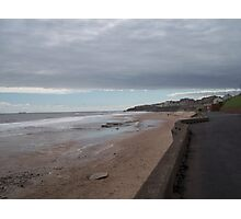 The beach at Whitley Bay England Photographic Print