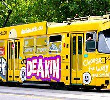 Melbourne Tram by harshcancerian