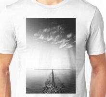 rock groyne in the North Sea I Unisex T-Shirt
