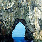 Capri Sailing (Reworked) by Carole Russell