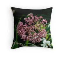 Floral offering Throw Pillow