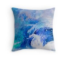 Can't stay dry Throw Pillow