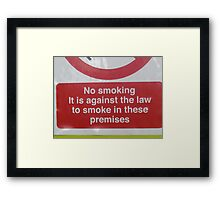 Social Comment Framed Print