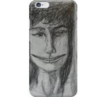Roxanne - A Portrait Drawing iPhone Case/Skin
