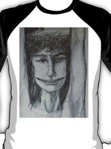 Roxanne - A Portrait Drawing T-Shirt