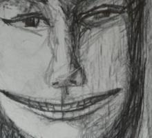 Roxanne - A Portrait Drawing Sticker