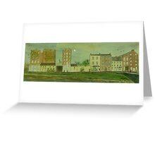 Glynn's Mills, Frances Street, Kilrush, Co. Clare (15 x 5 inches) Greeting Card