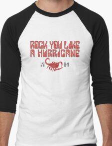 Rock You Like A Hurricane Men's Baseball ¾ T-Shirt