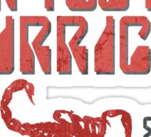 Rock You Like A Hurricane Sticker