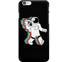 Boombox Retro Spaceman  iPhone Case/Skin