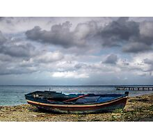 Abandoned Boat Photographic Print