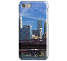 Chicago river cruise view towards  Dearborn Street Bridge iPhone Case/Skin