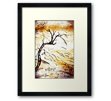 landscape Blossom Framed Print
