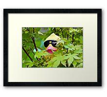 Tree Duck Framed Print