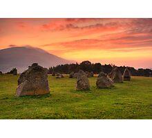 Stone Circle Photographic Print