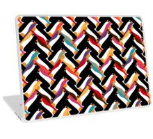 herringbone penguin Laptop Skin