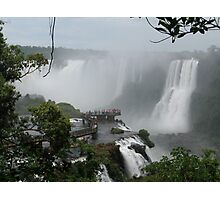 Iguazu Falls  South America Photographic Print