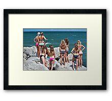 Nine Lives Framed Print