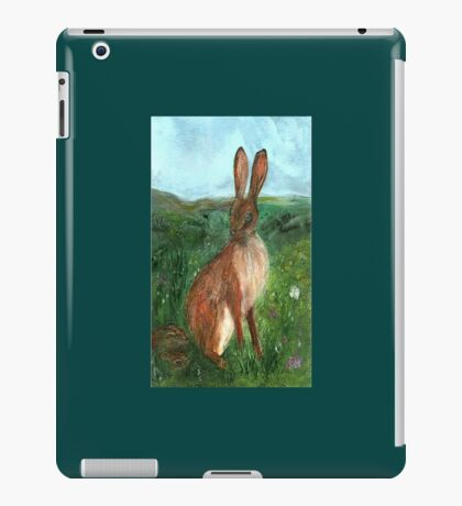 The Hare iPad Case/Skin