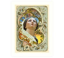 Santa Marija Art Print